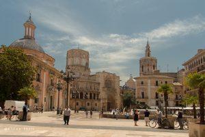 Een van de bekendste pleinen van Valencia is het Plaza de la Virgen