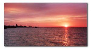 Zonsopkomst bij Durgerdam aan het IJmeer