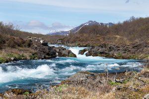 Bruarfoss waterval in IJsland