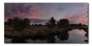 Kleurrijke zonsopkomst in Het Twiske
