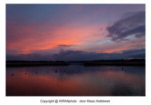 zonsondergang Twiske