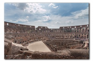 web in Colosseum IMG 0787